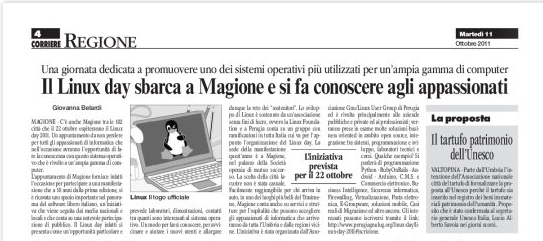 File:Linux-day-2011-articolo-corriere-umbria.png